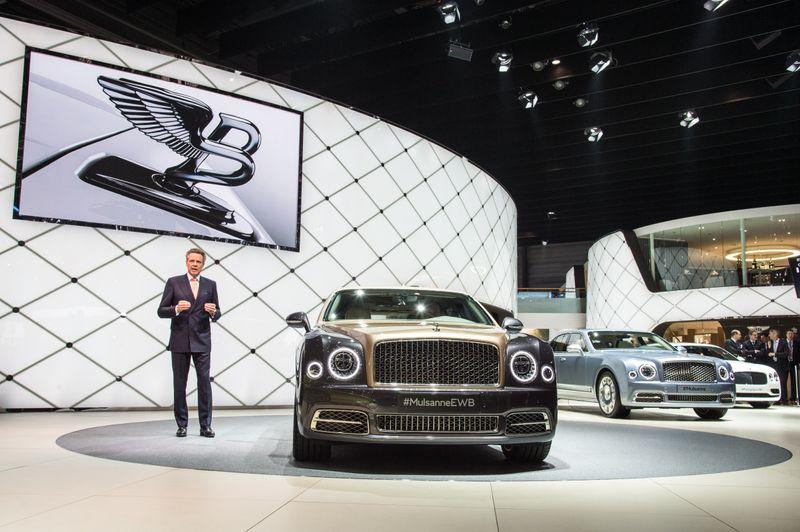 Bentley Motorshow Exhibition Stands