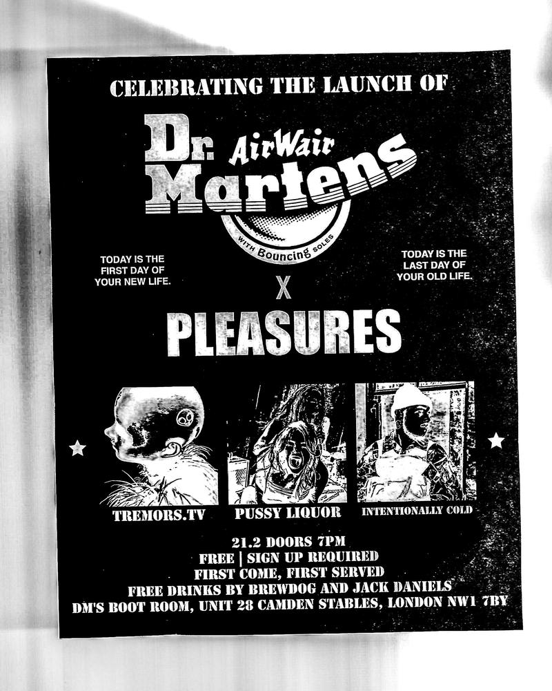 Dr Martens x Pleasures x Mixcloud
