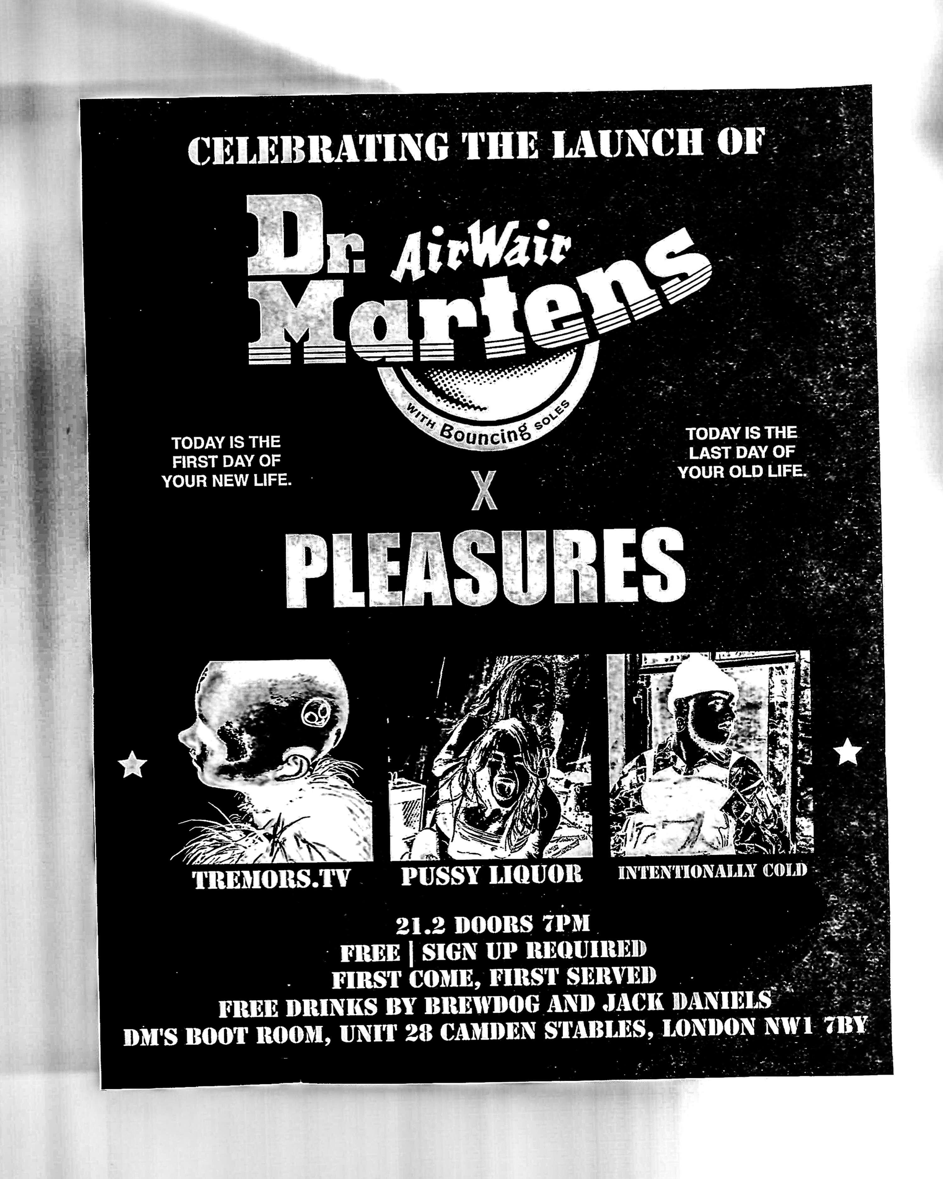 Dr Martens x Pleasures x Mixcloud | The Dots