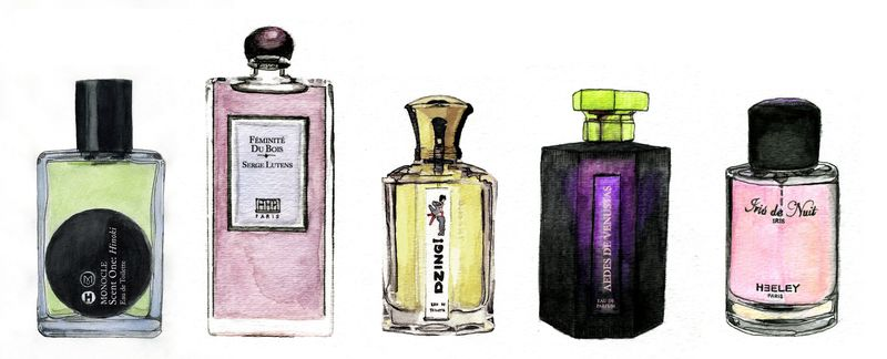 Perfume Illustrations