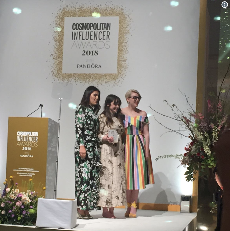 Cosmo Influencer of the Year Award - Winner, Content of the year