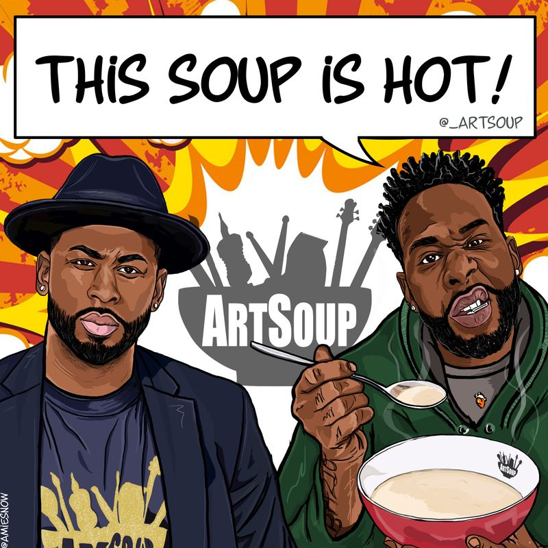 ART SOUP - BRAND SOCIAL POSTS & KEY VISUAL
