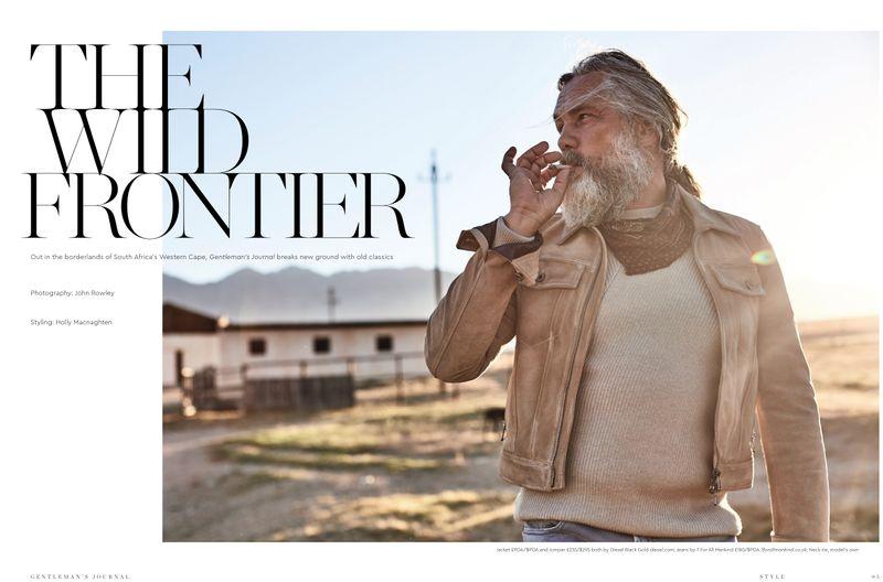 Menswear Editorial: The Wild Frontier