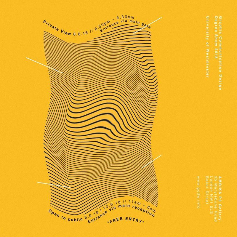Graphic Communication Design Degree Show