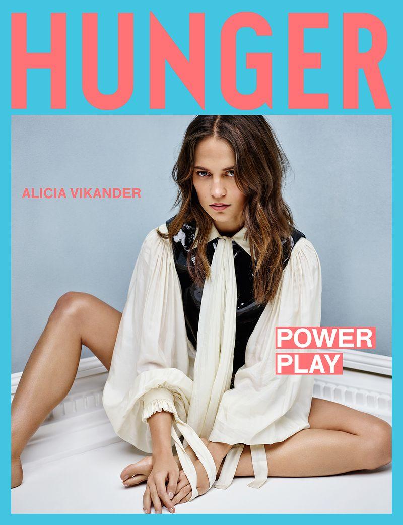 Rankin x Hunger Magazine - Alicia Vikander