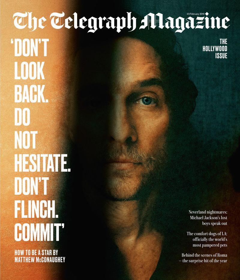 Matthew McConaughey x Telegraph Magazine x Jack Davison