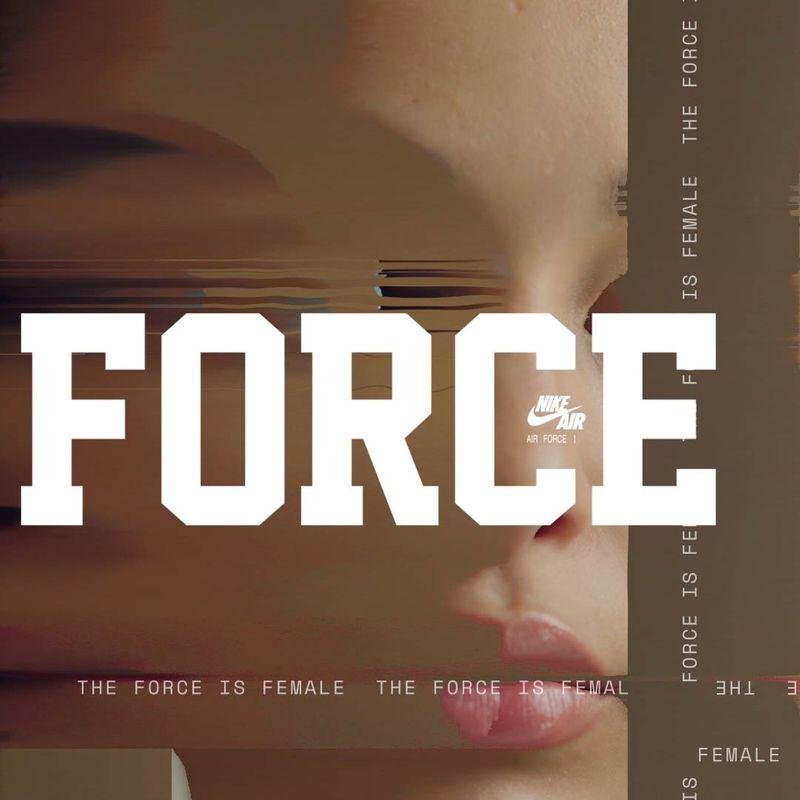 Nike, The Force is Female