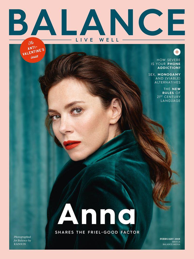 Rankin x Balance Magazine - Anna Friel