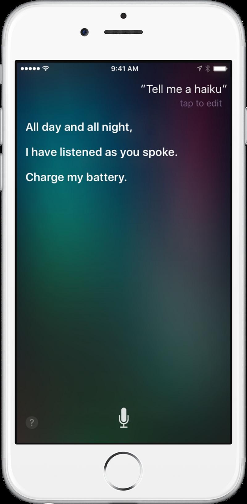Siri Dialog