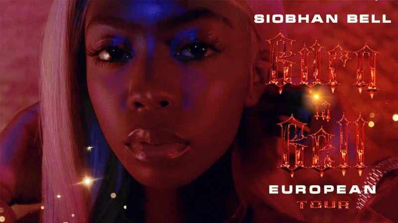 Siobhan Bell, Burn in Bell European Tour Visual Campaign.