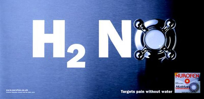 Nurofen Meltlets Poster Campaign
