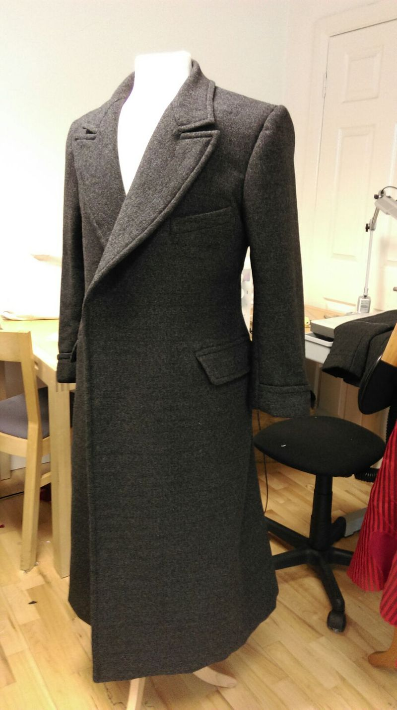 Over coat for 'murder on the Orient express'