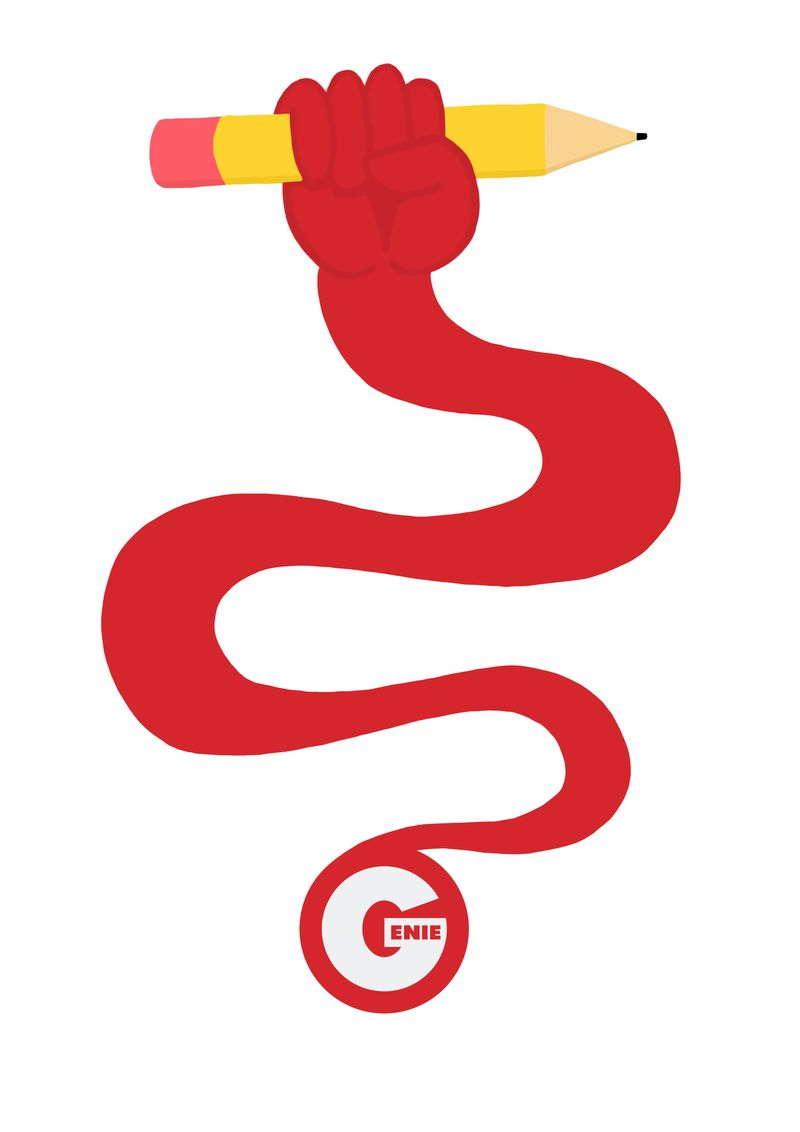 Genie - Launch Illustration