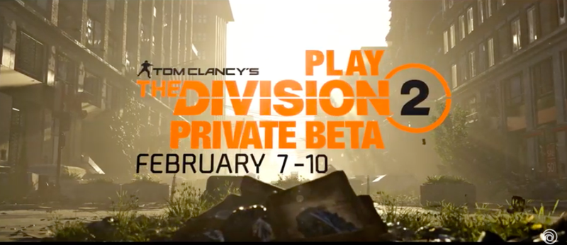 Tom Clancy's The Division 2: Private Beta Trailer
