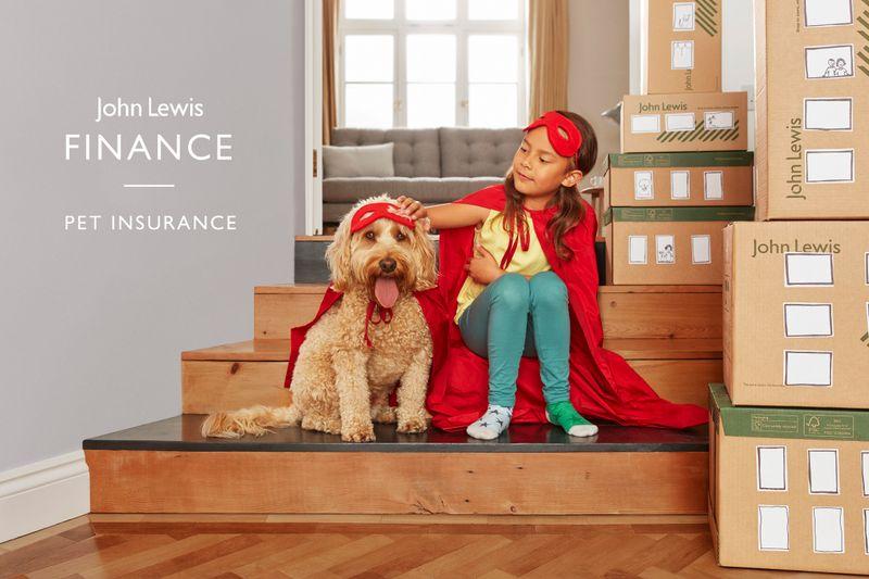 John Lewis Finance- Pet Insurance