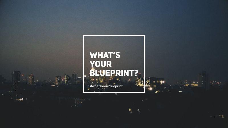 What's Your Blueprint? - Short