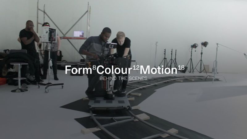 Form Colour Motion - Behind The Scenes
