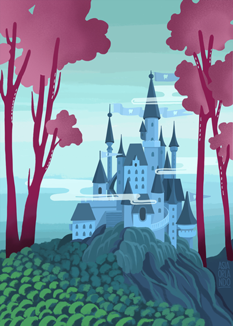 Tooth Fairy Castle