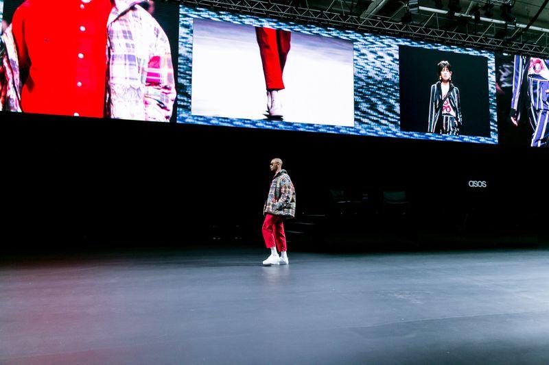 Asos Fashion Show Screen Content