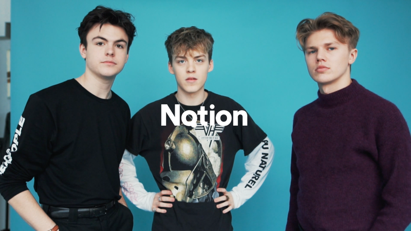 Notion x New Hope Club Interview IGTV