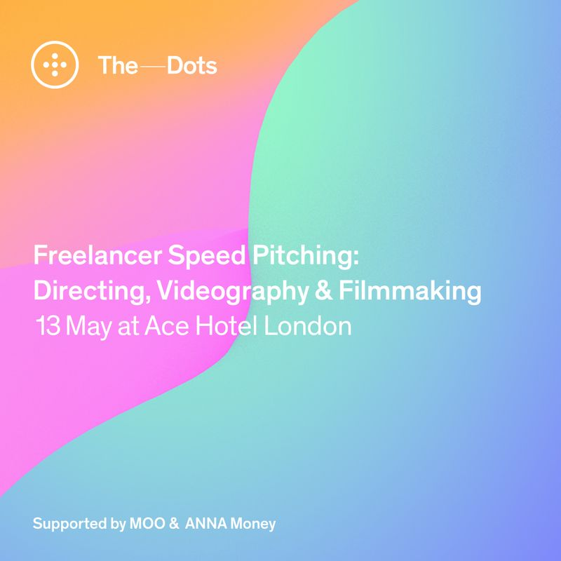 Applications closed - Directing, Videography & Filmmaking Freelancer Speed Pitching event