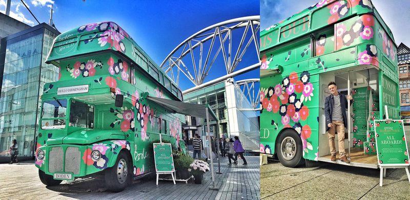 Bloom & Wild x Boden Spring blooms Tour