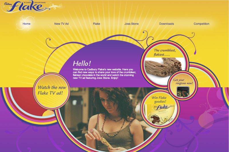 Cadbury Flake - Web Relaunch