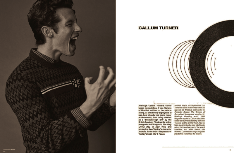Callum Turner x 1883 Magazine
