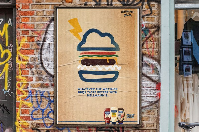 Hellmann's—Weather Burger