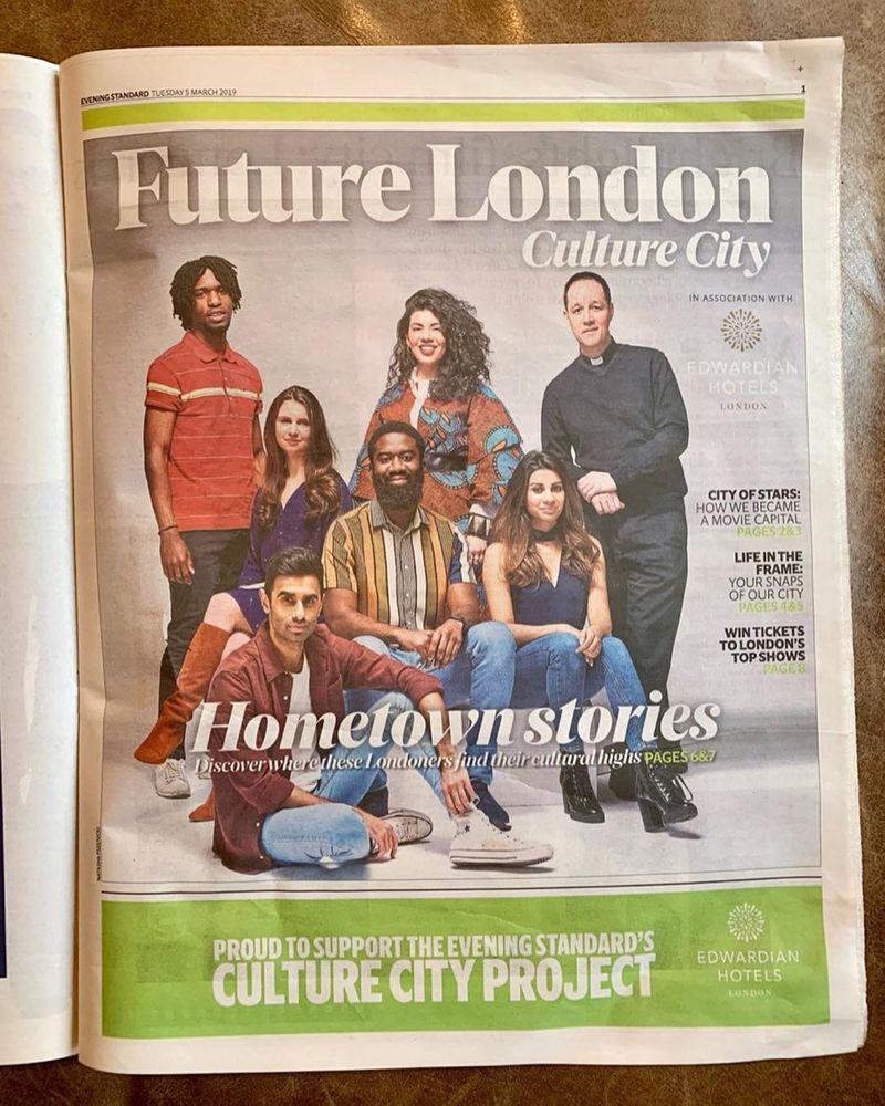 Evening Standard Diversity Feature. Future London.