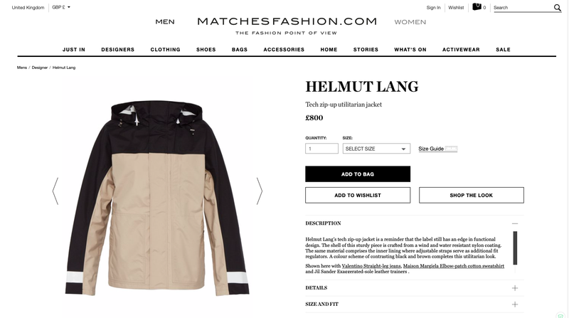 Product Copy - Luxury Fashion