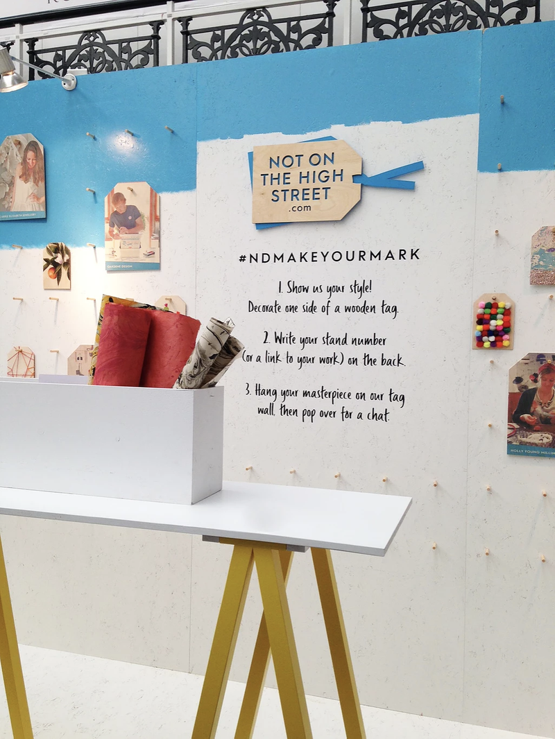 Event Design: Not on the High Street