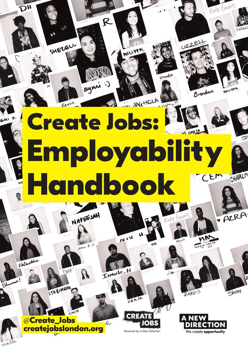 Helping young Londoners get and stay employed with Create Jobs.