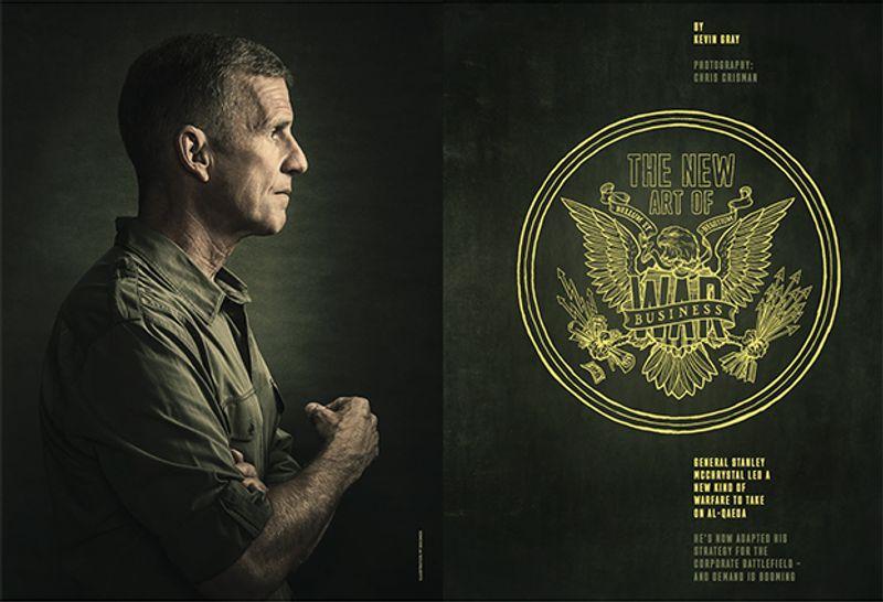 General Stanley McCrystal by Chris Crisman