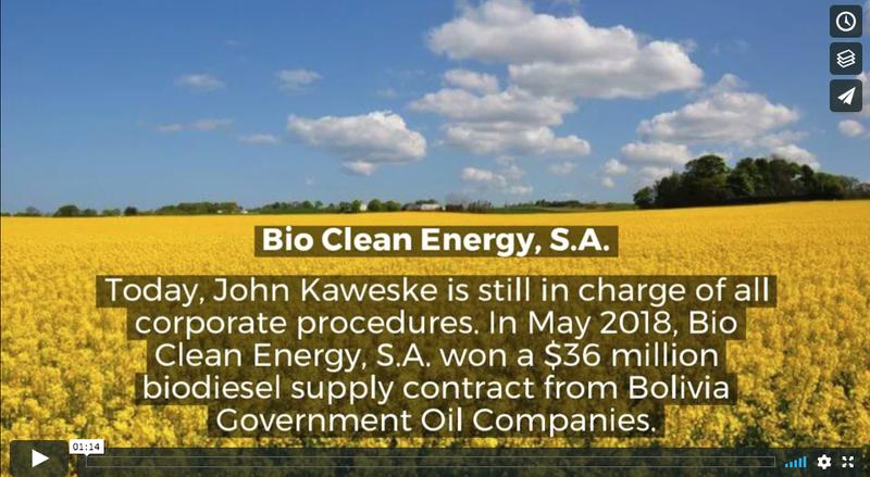 About John Kaweske, Colorado-Based Biodiesel Expert