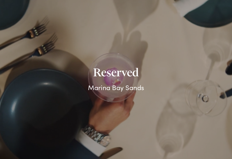 Marina Bay Sands Hotel - Reserved (Content TVC)