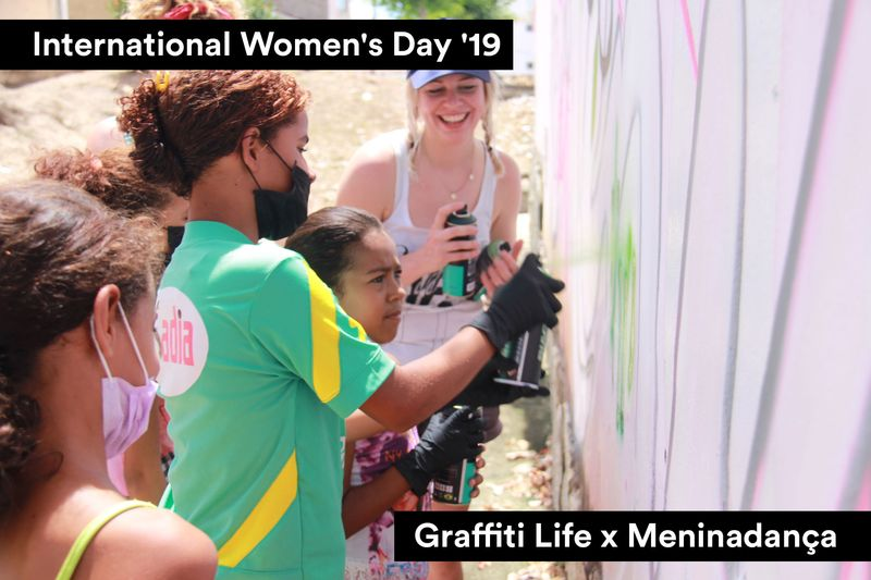 I W D 19. Empowering Young Females in Brazil using Street Art