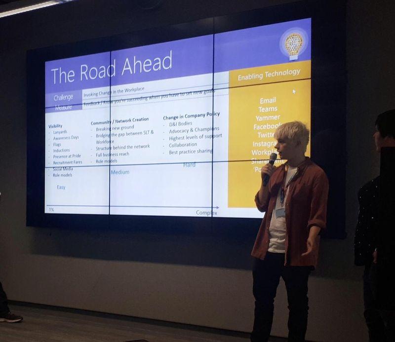 Microsoft LGBT+ Hackathon