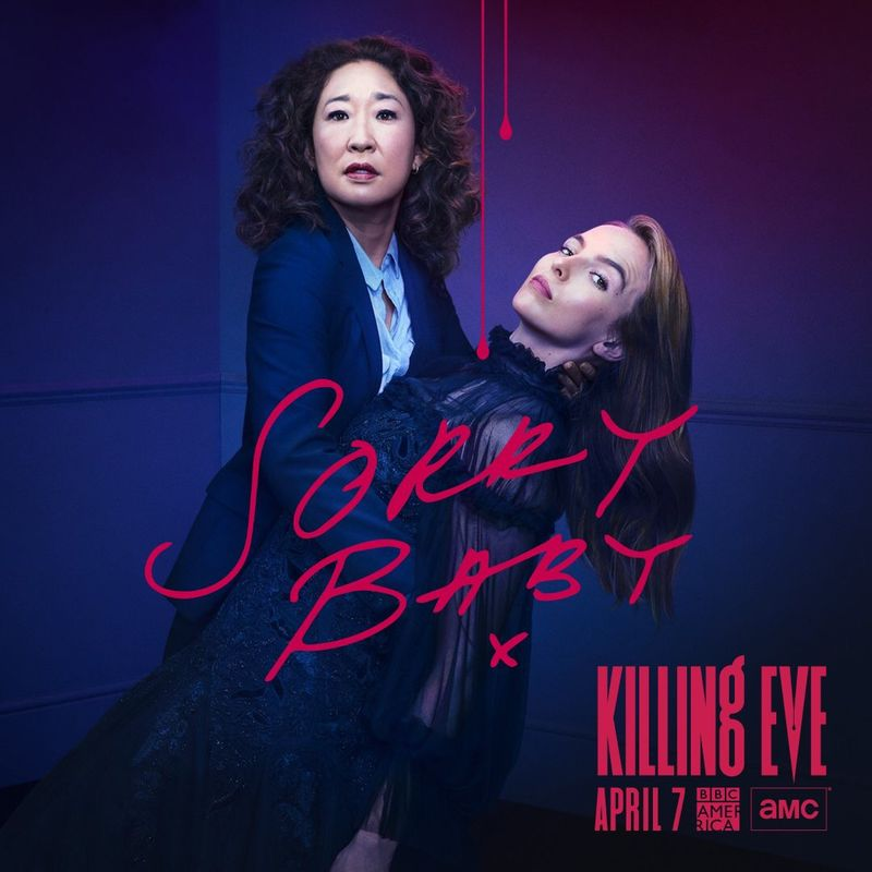 Killing Eve Key Art Season 2