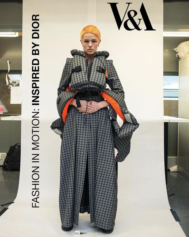 Central Saint Martins x Dior V&A Fashion in Motion