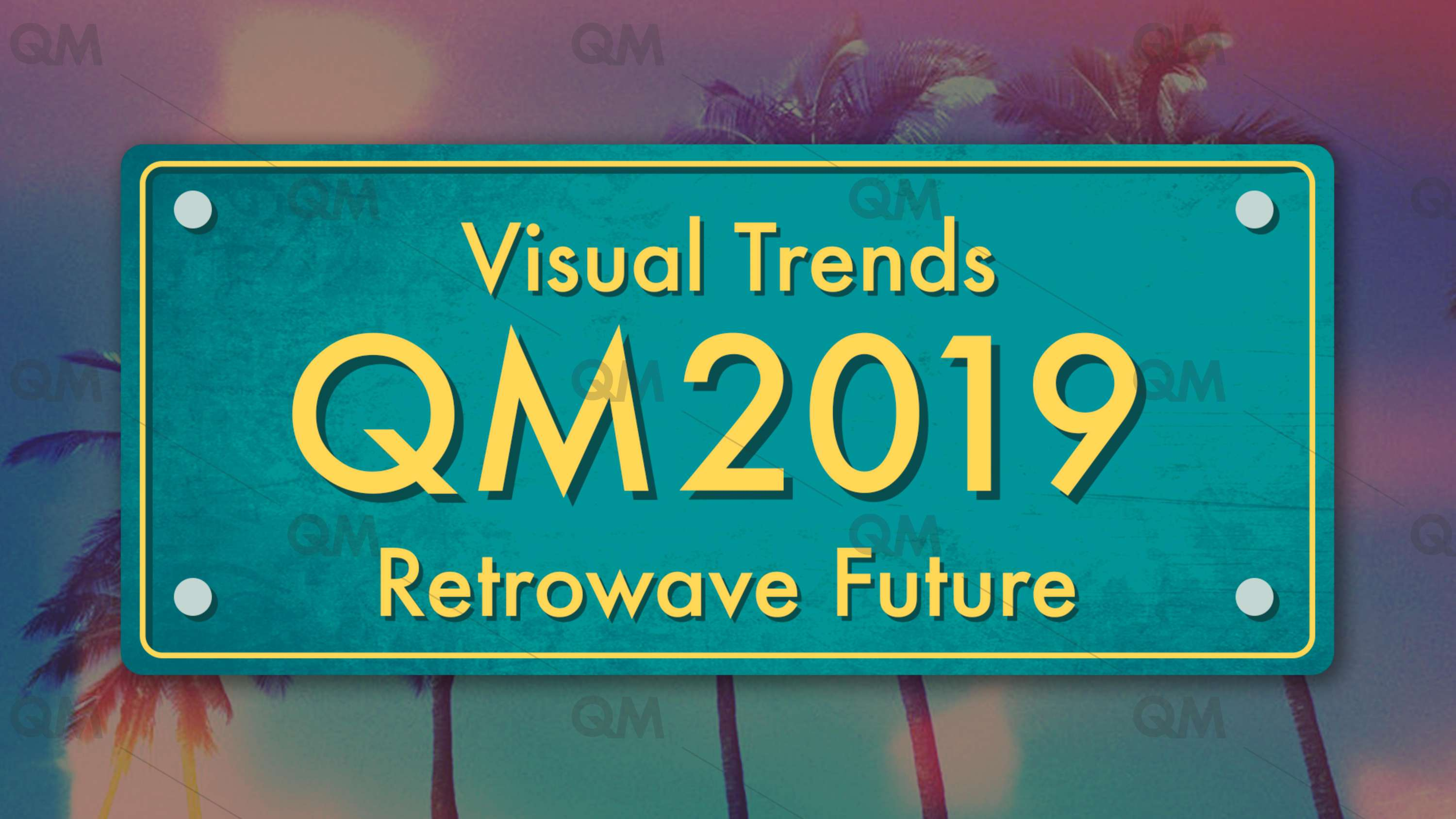 2019 Visual Trends | Retrowave Future | The Dots
