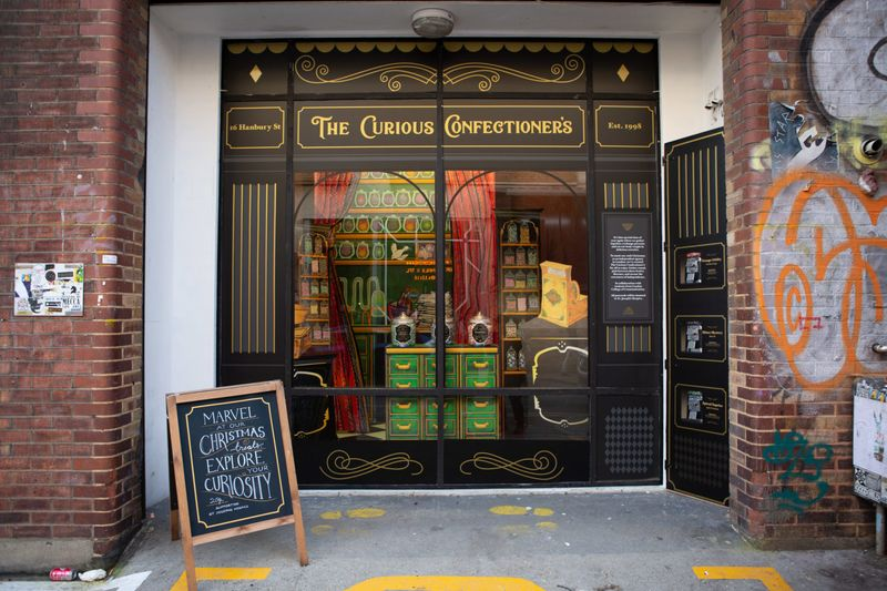 Wieden & Kennedy's Window Display: The Curious Confectioner's