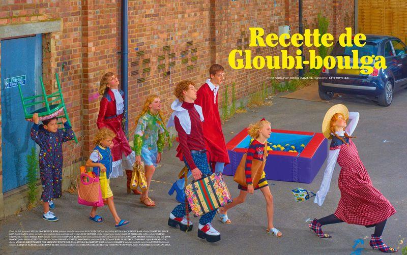 Recette de Gloubi-boulga, Fashion Story for Buffalo Zine