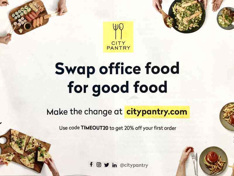 Brand Photoshoot & Media Campaign - City Pantry