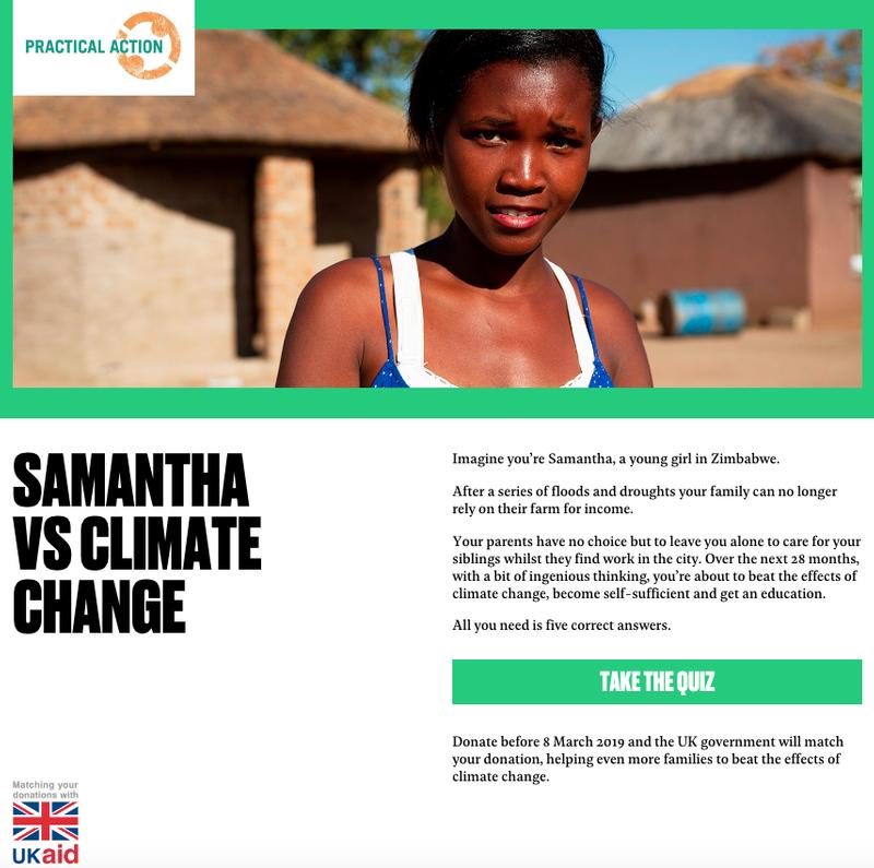 Samantha Vs Climate Change