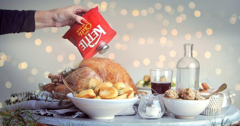 Kettle Chips 'Real Seasonings' Greetings'