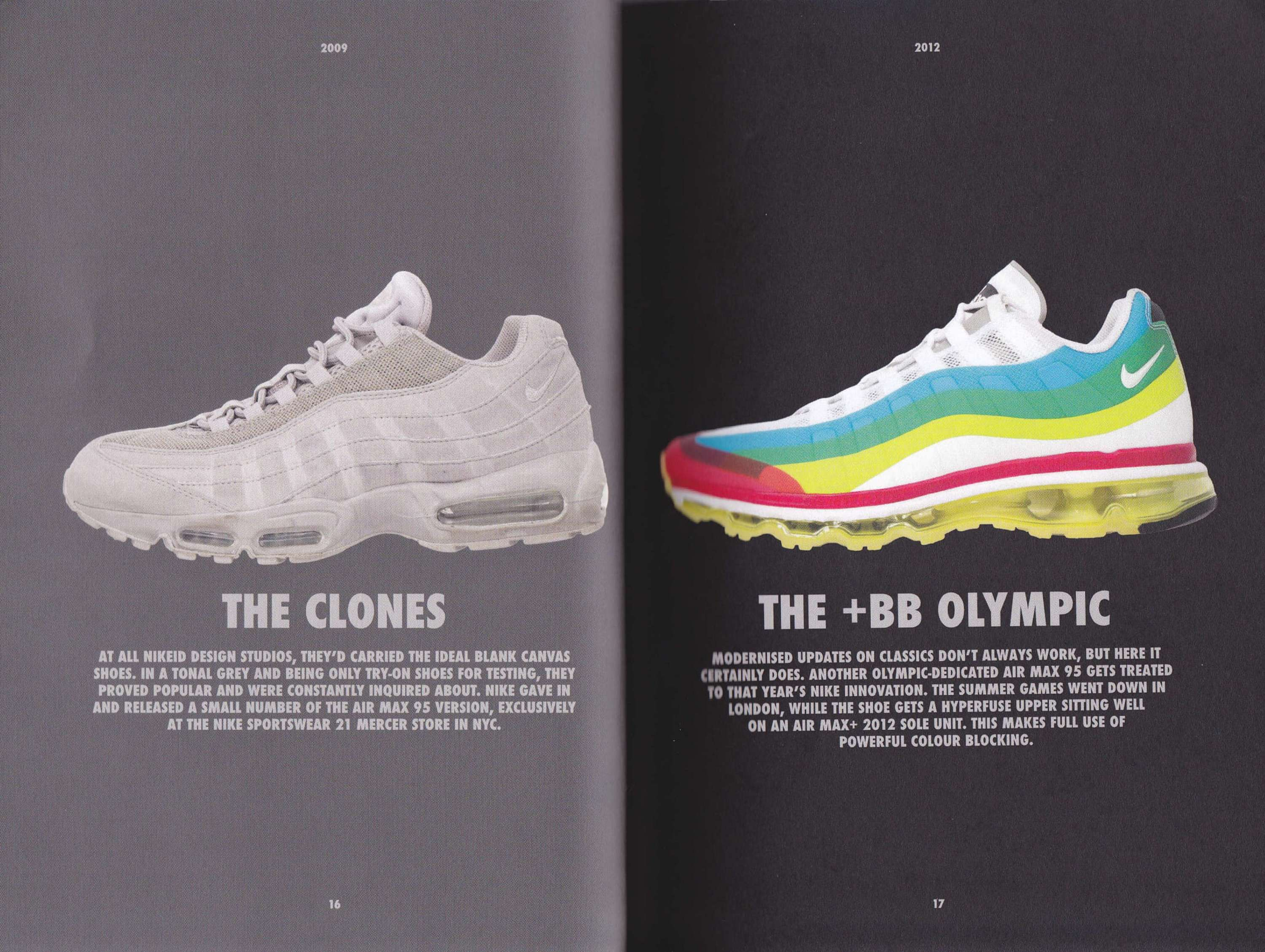 best service c3553 0cf3b An exhibition and accompanying book celebrated the 20 year anniversary of  the Nike Air Max 95, in partnership with sports footwear retailer, size