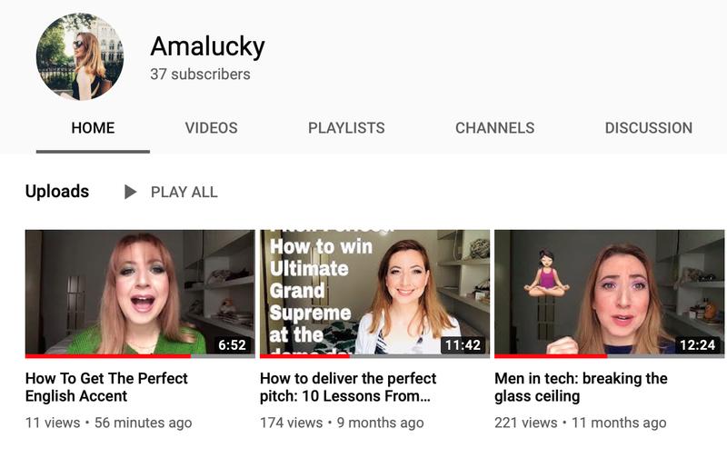 Amalucky YouTube Channel