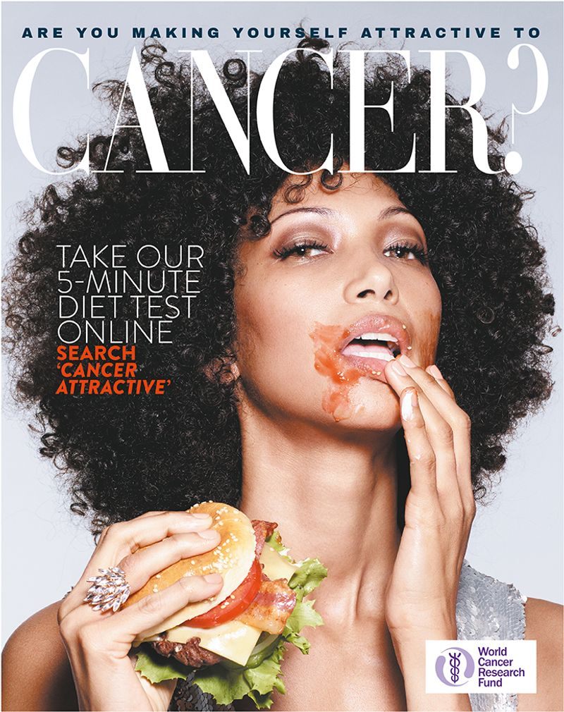 Rankin x WCRF - Are You Making Yourself Attractive To Cancer?