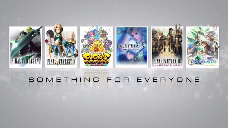 FINAL FANTASY Something for Everyone Trailer and eCRM